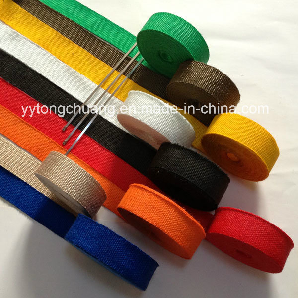 Colorful Fiberglass Exhaust Header Turbo Heat Wrap