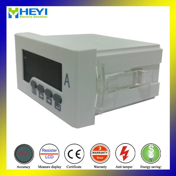 Rh-AA51 96*48 Hole Size Digital Panel Ammeter Measuring AC Digital Ammeter LED Display