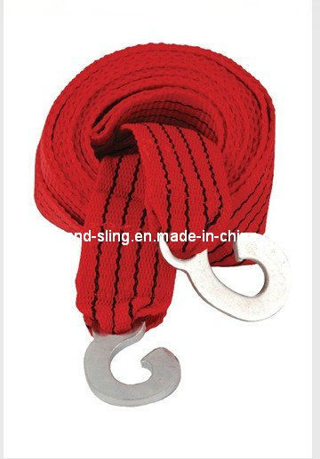 Tow Strap Polyester Webbing with Hook