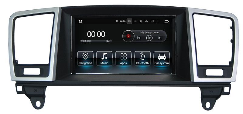 Car Radio GPS for Mercedes Benz Ml / Gl