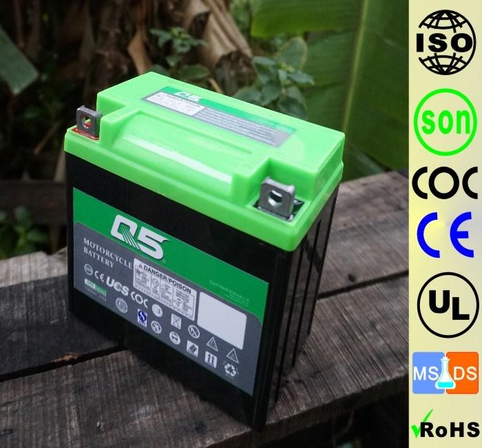 YT7 YT7E(YB7 YB7L 12N7) 12V7AH High Starting Performance AGM Sealed maintenance free lead acid motorcycle battery