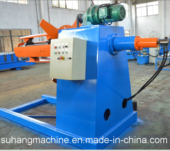 Durable 5 Ton Hydraulic Decoiler Without Coil Car