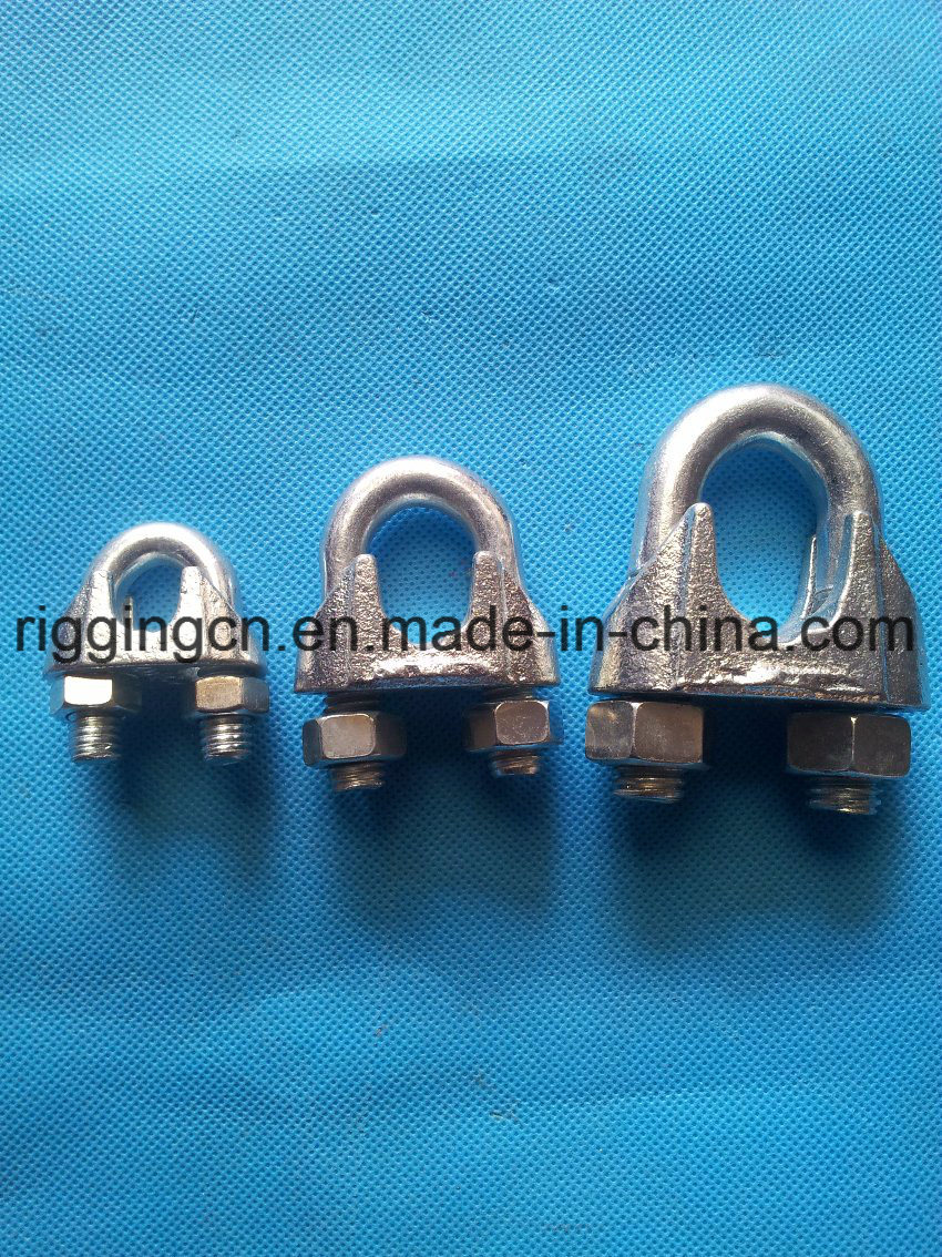 Us Type Malleable Wire Rope Clip for Rope Loop Strain