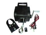 High-Quality 12V/24V Electric Winch (12000LBS-A)