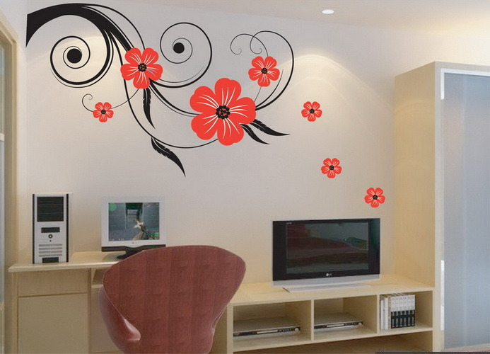 Wall Decoration Stickers 2017 Grasscloth Wallpaper