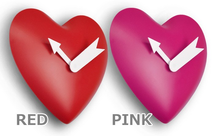 Heart Wall Clock/ Promotion Clock/ Valentine Gift