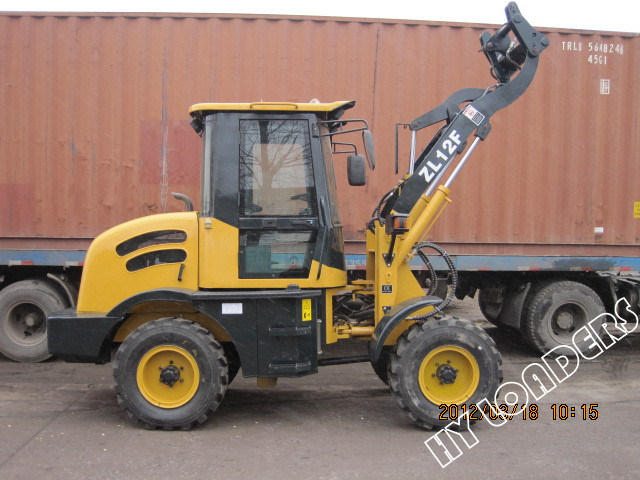Multi-Function Wheel Loader with Hydraulic Quickly Hitch Device (ZL12F)
