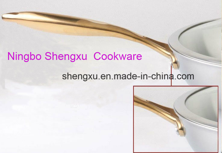 18/10 Stainless Steel Cookware Chinese Wok Cooking (SX-WO32-21)