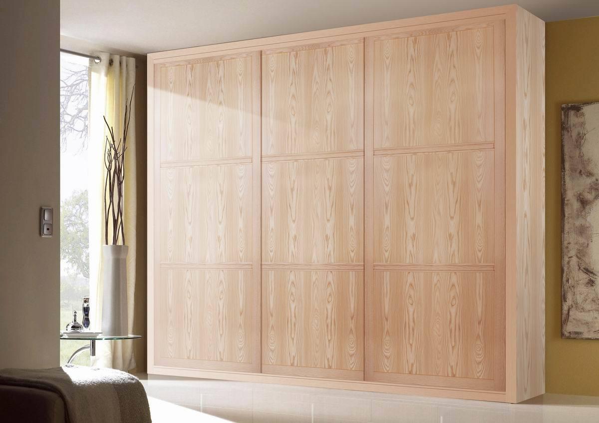 Garde robe en bois de porte coulissante de meubles de for Glissiere porte coulissante meuble