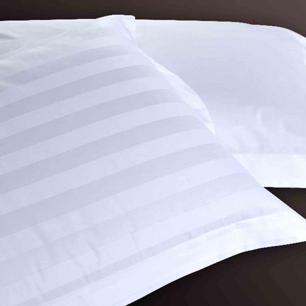 100% Egyptian Cotton Stripe Design Pillow Cover