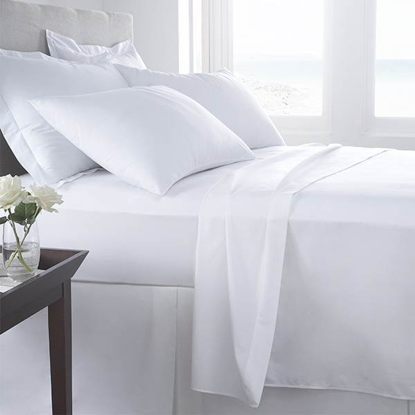 White Bedding Sheet Set for Hotel Bed Duvet Covers (DPF1046)