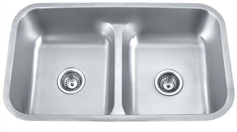 Double Bowl Stainless Steel Sink : ... Stainless Steel Double Bowl Sink (DY-U-876) - China Sink, Bowl Sink