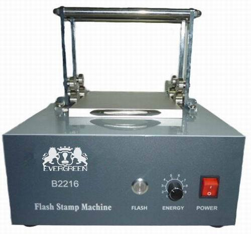 4 Lamps Flash Stamp Machine B2216
