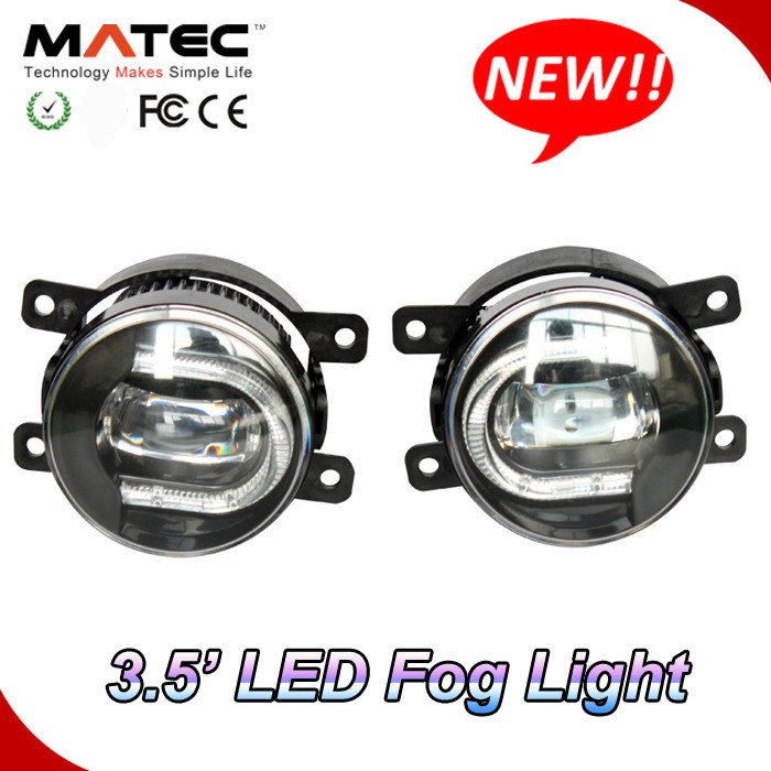 "Factory New Coming 3.5"" 36W Auto Car Universal LED DRL Light+LED Fog Light"