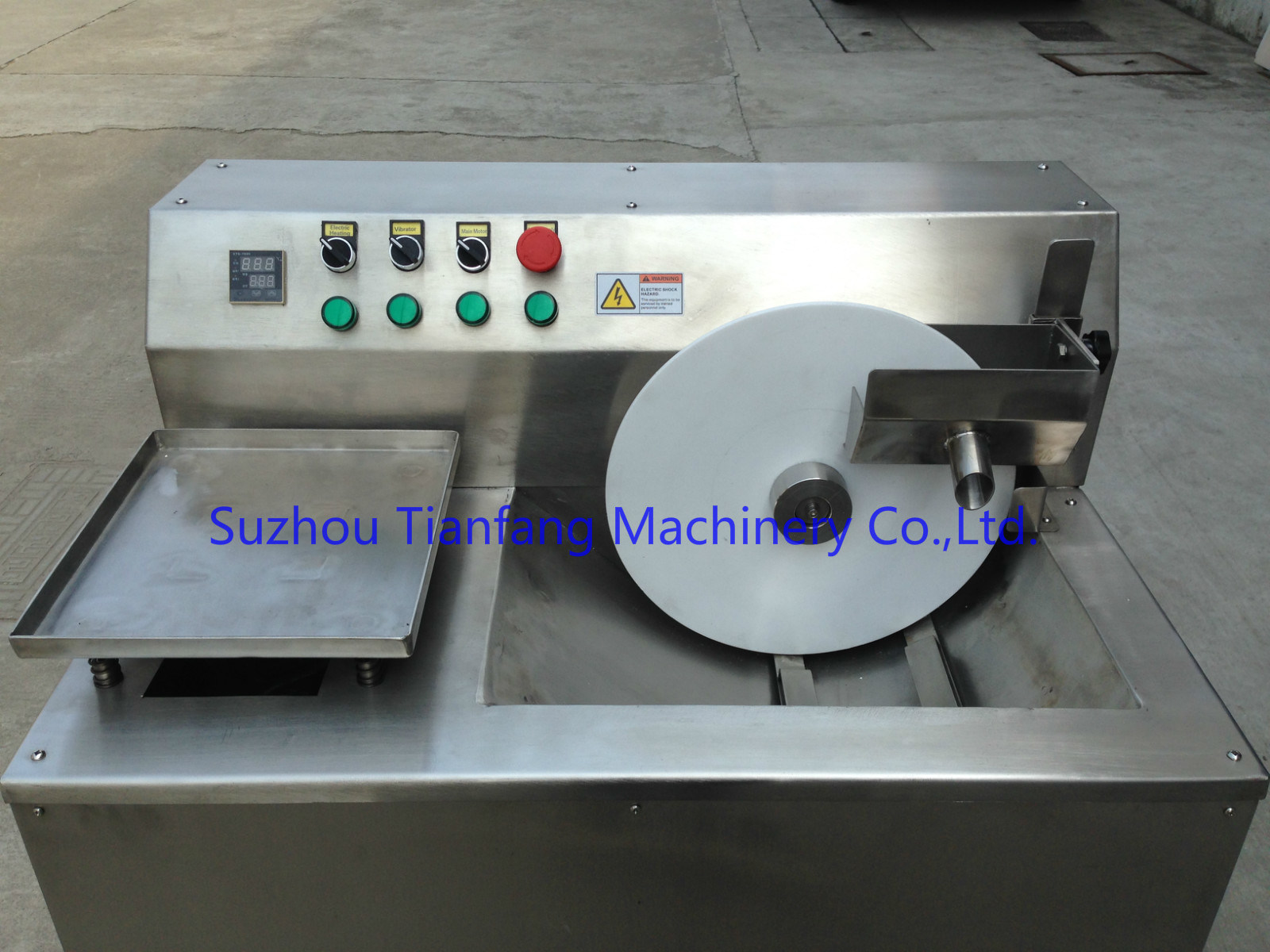 Manual Chocolate Making Machine for Small Scale Production