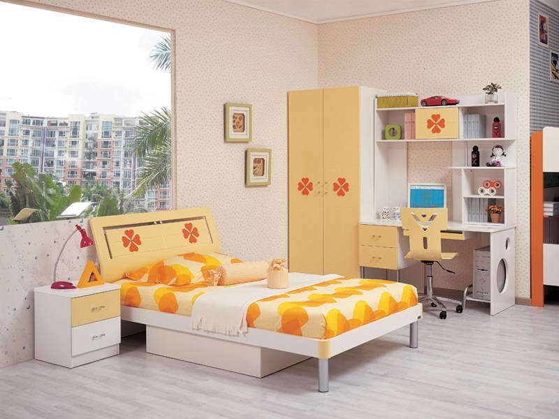 China kids furniture childrens furniture bedroom set for Kids bedroom furniture sets