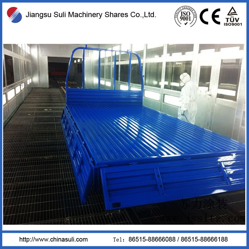 Spray Painting Production Line for Paint Workshop