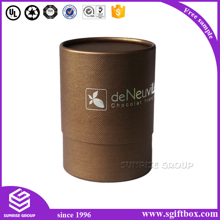 Color Custom Packaging Flower Round Paper Box