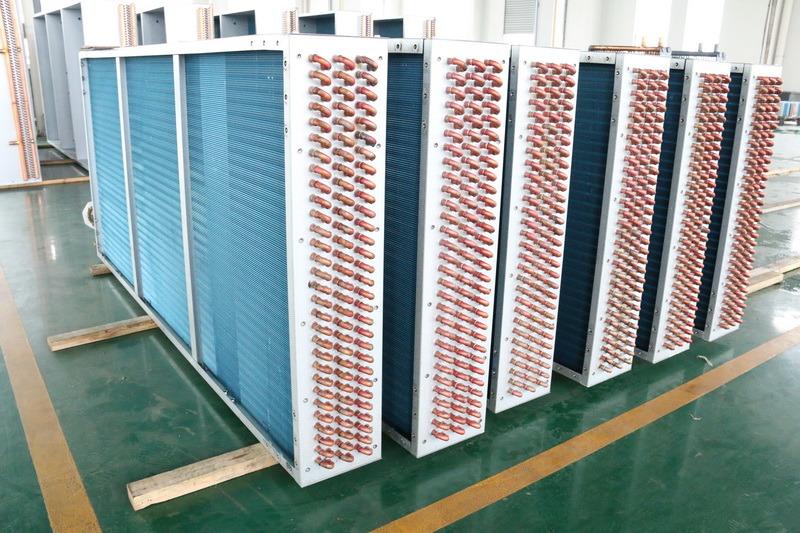 Copper Tube Aluminium Fin Heat Radiator for Air Conditioners