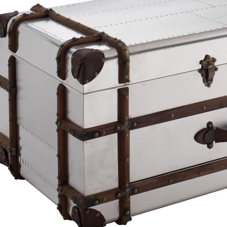 Hotel Furniture, Villa Furniture, Loft Style Aviator Aluminum Coffee Table Rtk-65