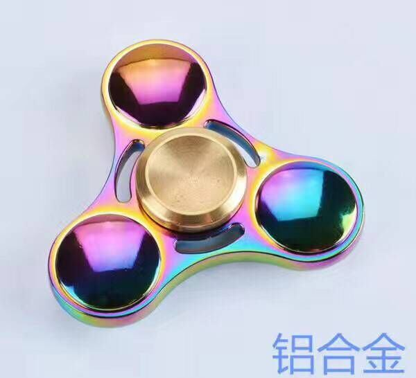 Colorful High Speed Turning 3 Mins Figet Spinner