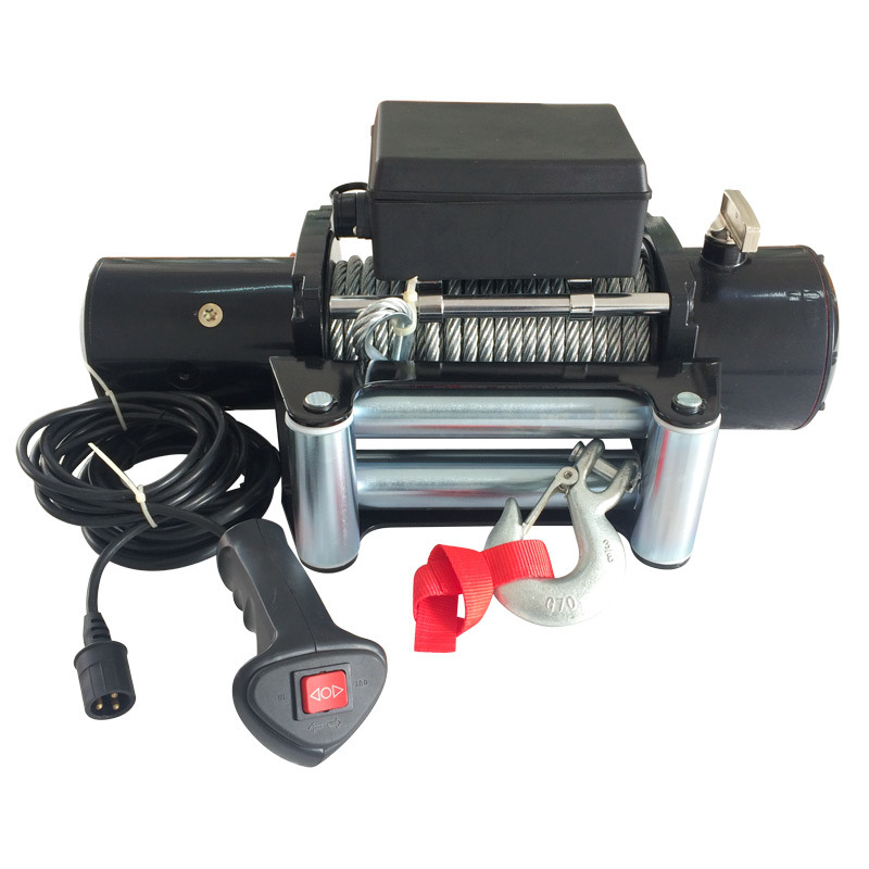 Classic Design 12000 Electric Winch Powerful Strength