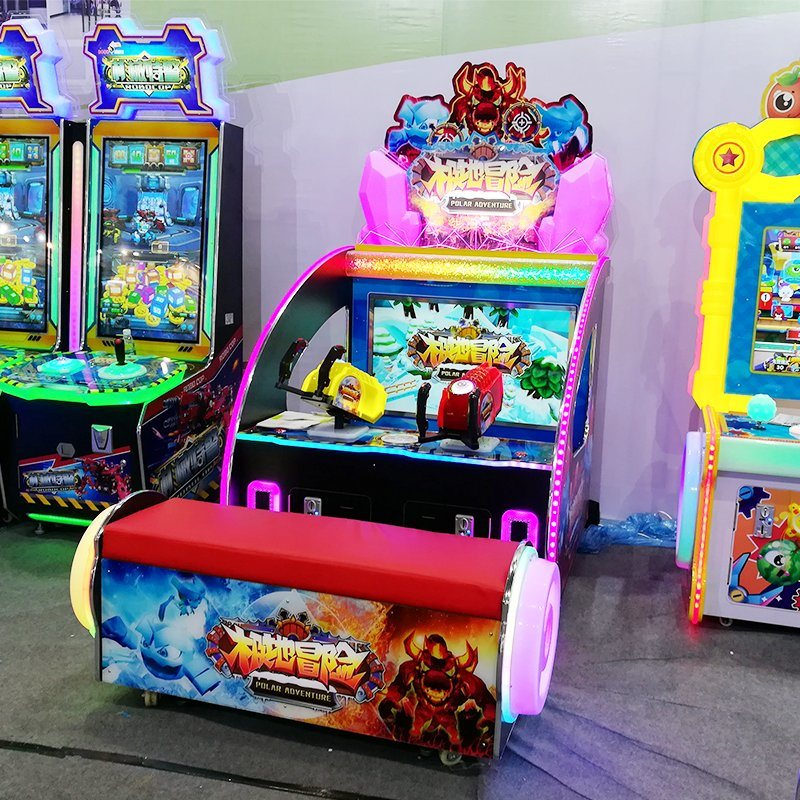 New Launched Polar Adventure Children Game Machine Arcade Amusement Gun Shooting Machine