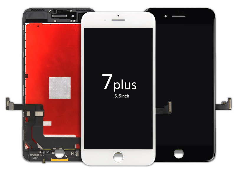 Original LCD for iPhone 7g plus with touch digitizer with frame for phone repairment purpose
