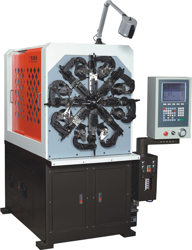 Kct-0520wz 2.0mm 5 Axis CNC Versatile Spring Rotating Forming Machine&Extension/Torsion Spring Making Machine
