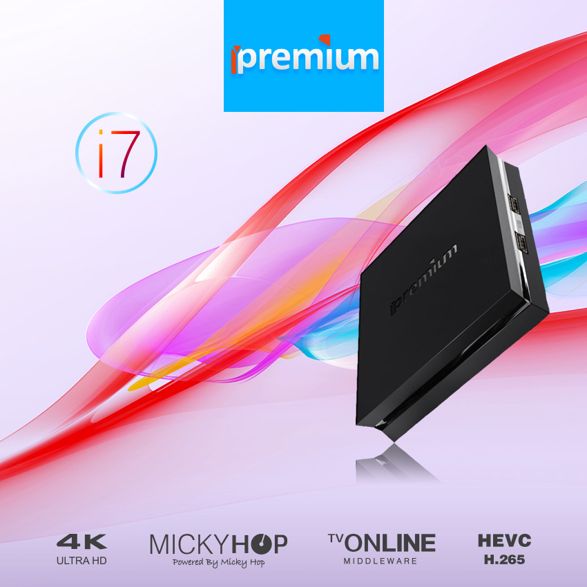 Ipremium I7 Arabic Ipremium I7 Smart Android IPTV Box Poptv 1300+Polish UK Bulgaria Serbian Belgium Iraq Iran Portugal Paytv Ott Settop Box