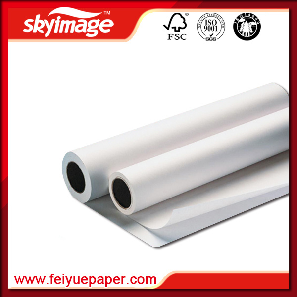 90GSM Quck Dry Sublimation Printing Paper Roll for Textile