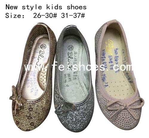 New Style Fashion Kids Dance Shoes Ballet Flats Girls (mm171-2)