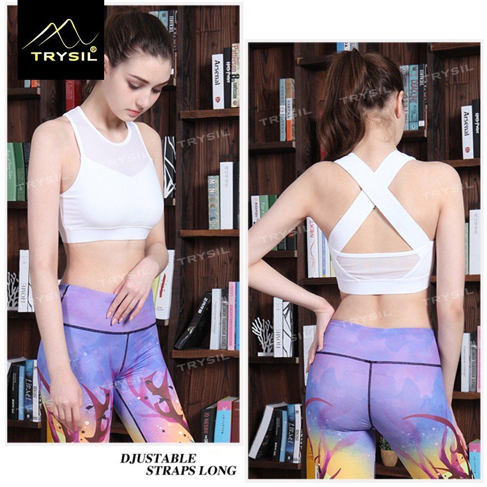 White/Black Short Tank Tops Sexy Back Yoga Vests Gym Stringer