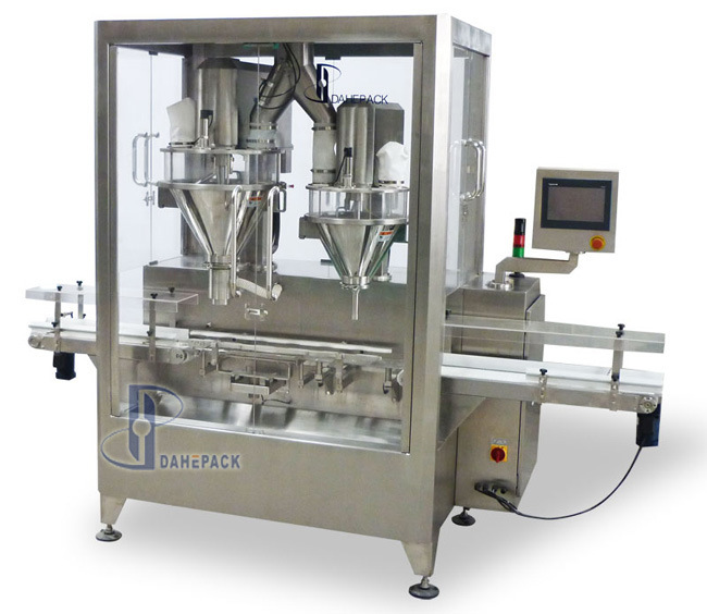 Automatic High Speed Auger Metering Powder Filling Machine