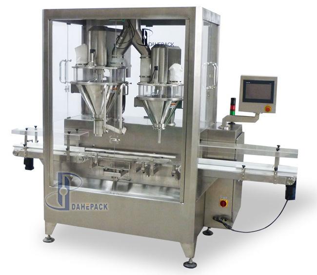 High Speed Auger Metering Powder Filling Machine