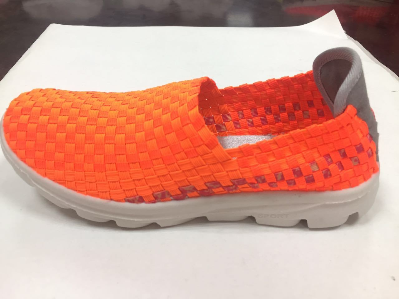 Hot Sale Brand Woven Sport Casual Shoes for Men