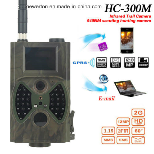 Full HD 12MP 1080P Night Vision Hc300m Outdoor Wildlife Scouting Trail Camera Hc-300m Hunting Cam