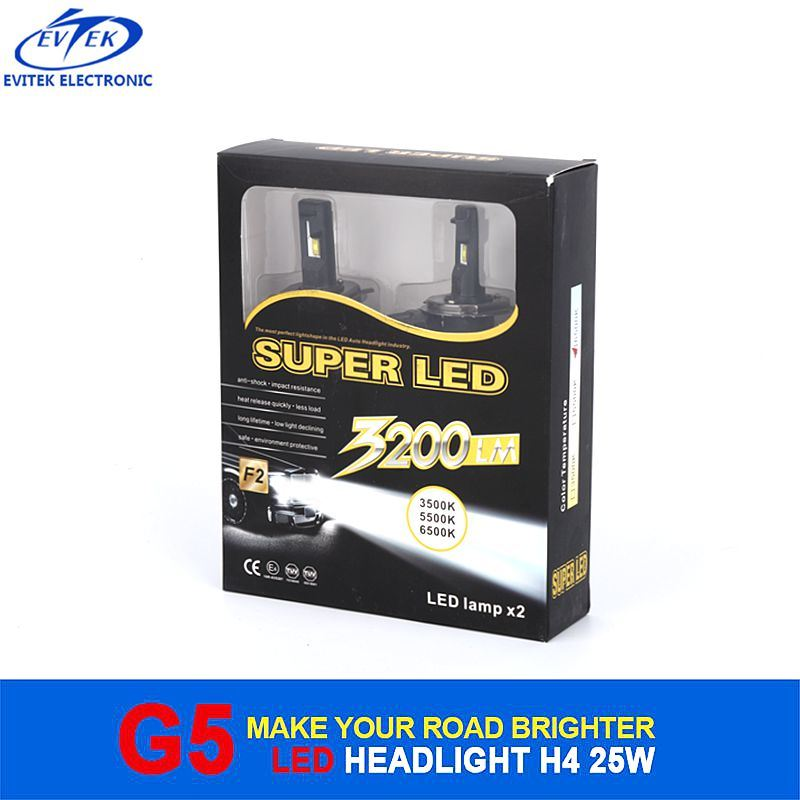 Car Headlight 25W 3200lm H4 H/L LED Headlight for Car and Motorcycle with Ce RoHS Certification