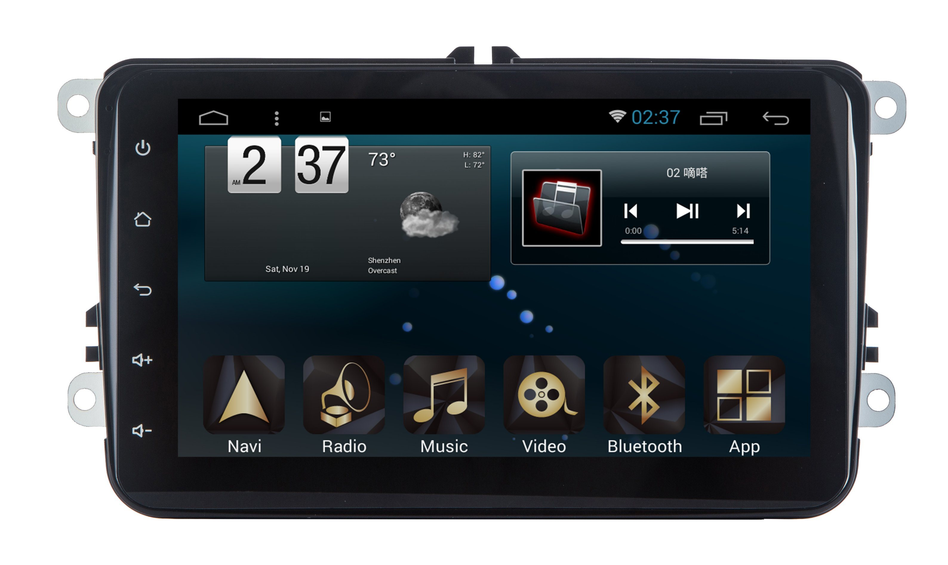 Android 6.0 System Car DVD for Volkswagen Universal 8 Inch Navigation