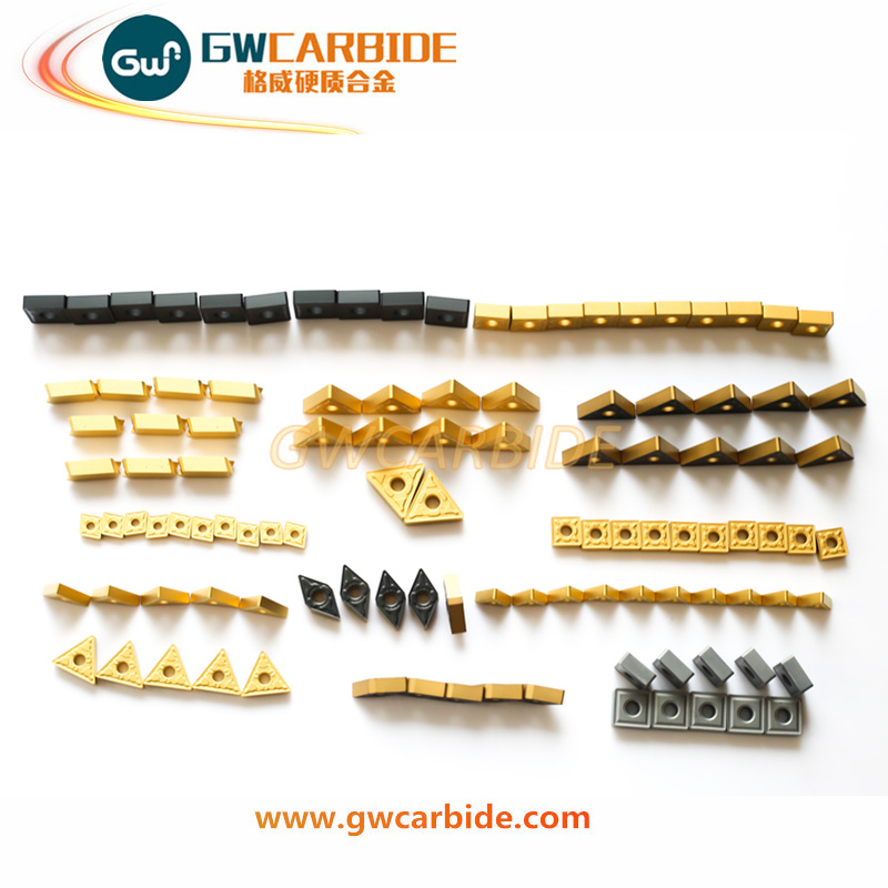 Carbide Indexable Turning Milling Inserts with CVD PVD Coating