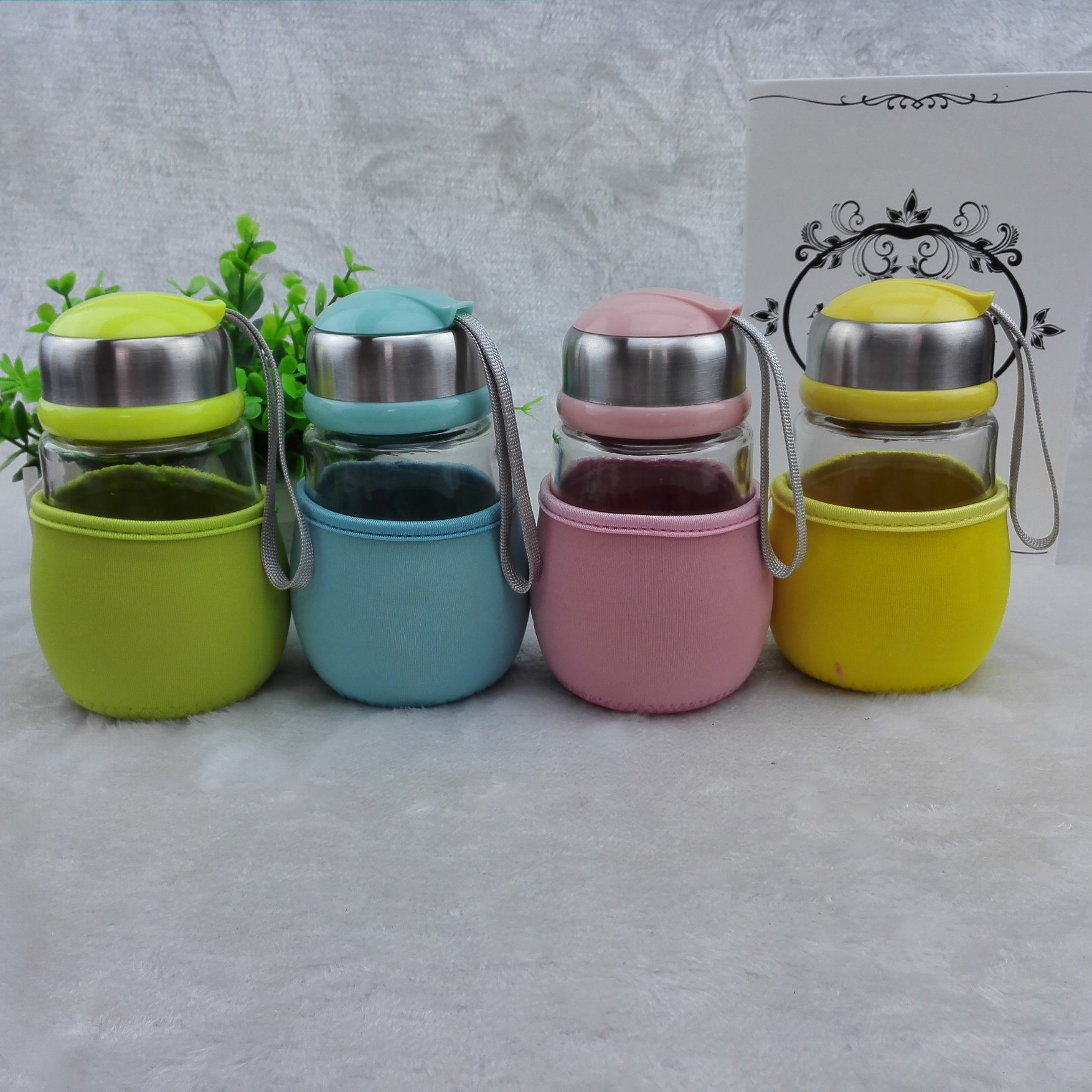 420ml Lead-Free New Creative Penguin Glass Cup Gift Promotion