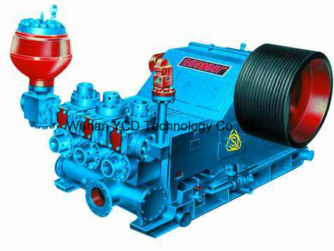 Land Drilling Rig 3nb1600 Mud Pump