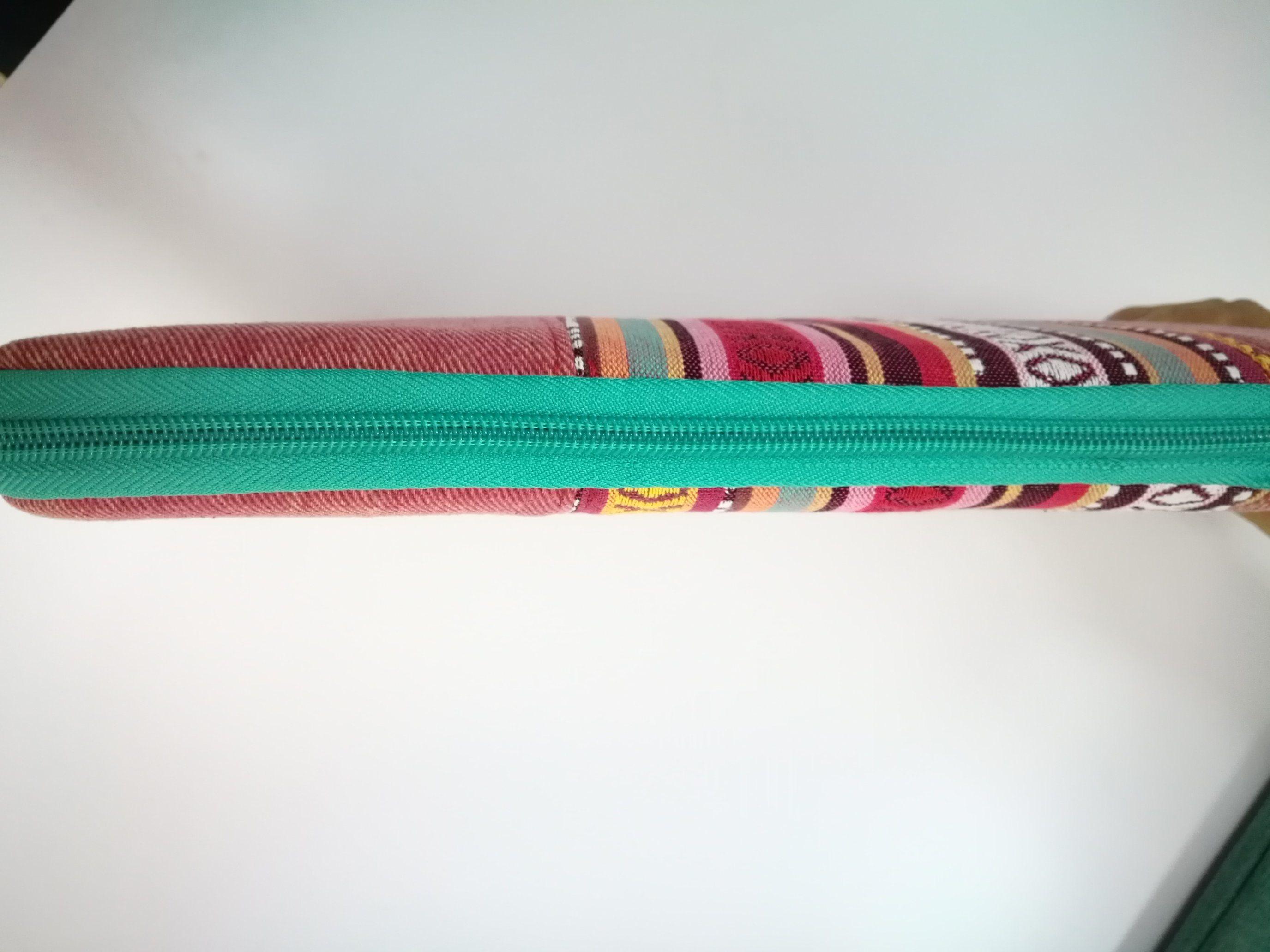 Folk Style Printed Shockproof Canvas Polyester Laptop Sleeve Laptop Bag