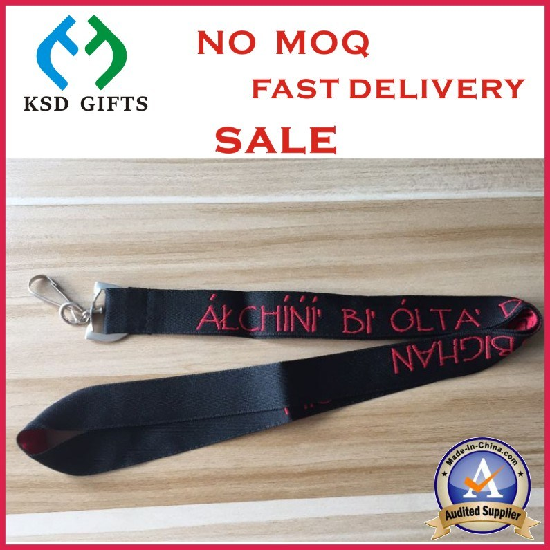 Custom Colorful Polyester Nylon Printing Phone Lanyard for Forum Meeting