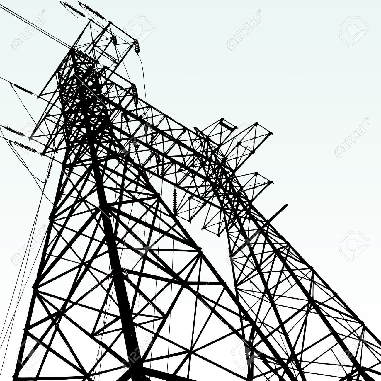 Power Transmission Steel Tower for Overseas Porject