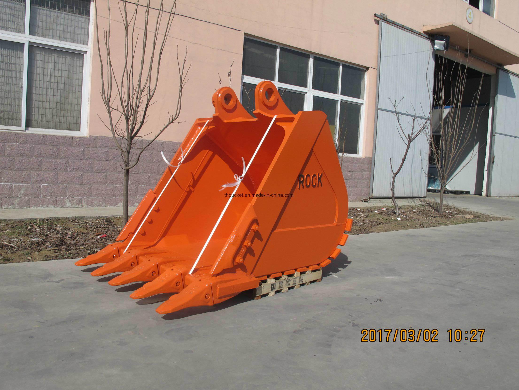Excavator Buckets Assy Standard and Heavy Duty Rock Buckets Ex360 Bucket