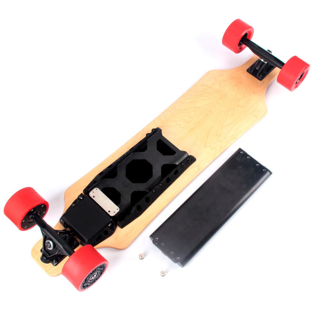 No Foldable Smart Four Wheel Electric Balancing Skateboard / Longboard