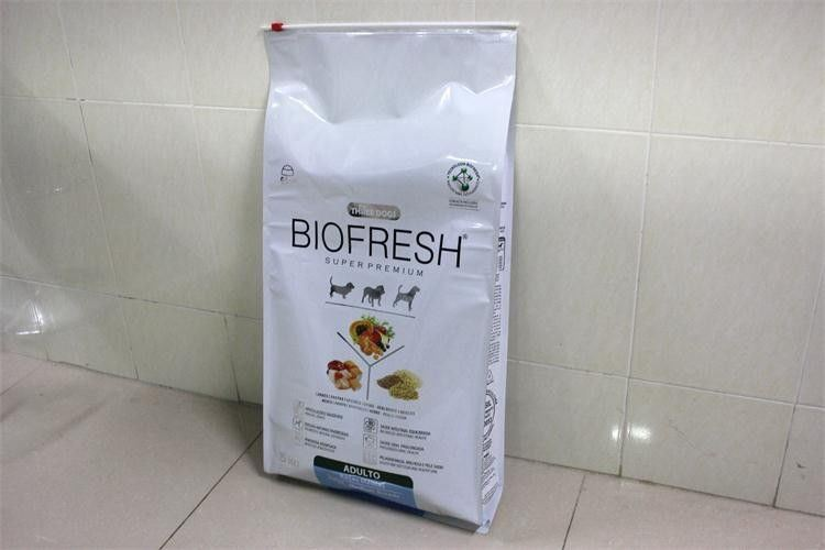 Slider Zipper Bag in Big Size for Pet Food Packaging