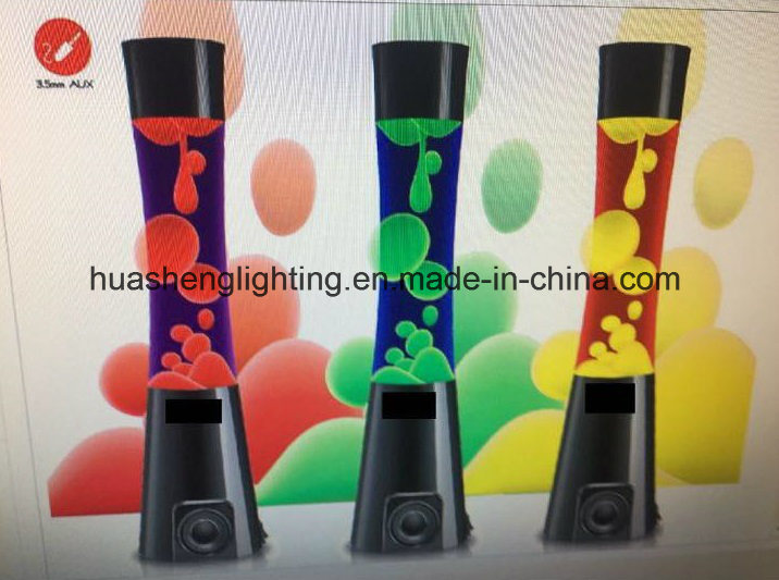 Lava Lamp with Bluetooth Speaker