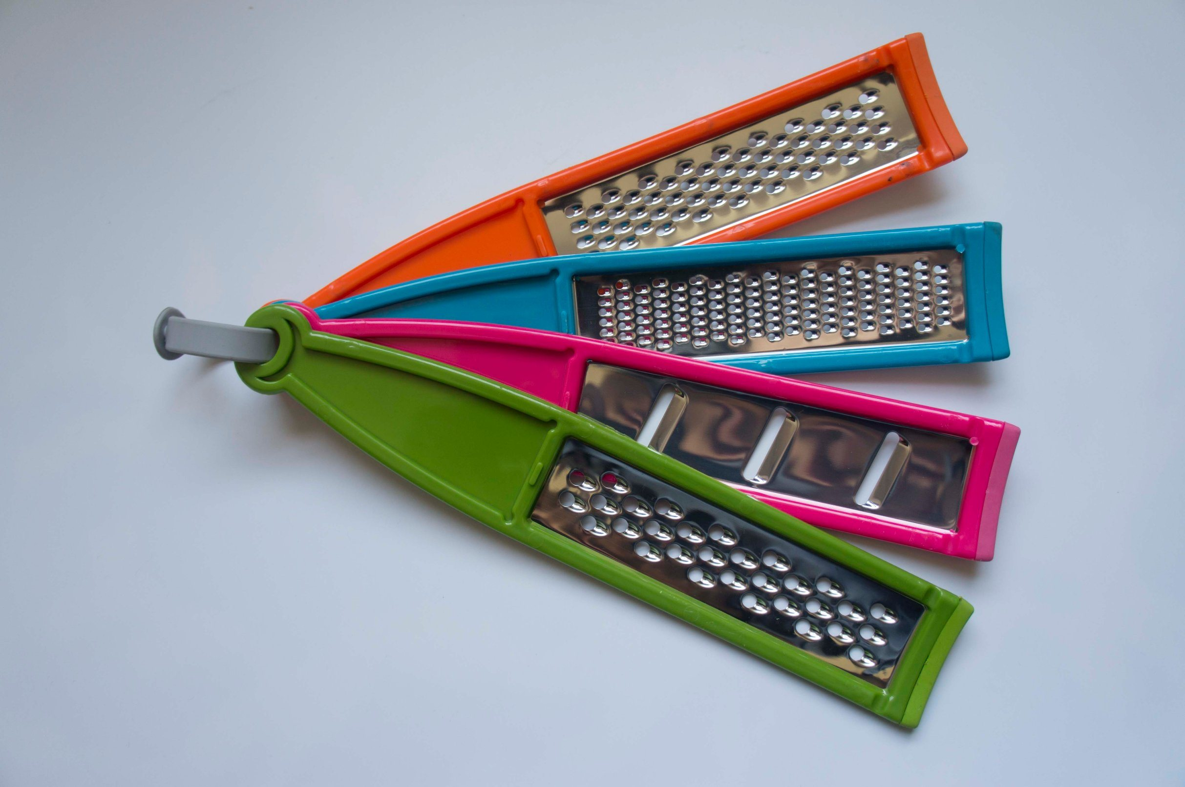Set of 4 Farberware Stainless Steel Professional Graters